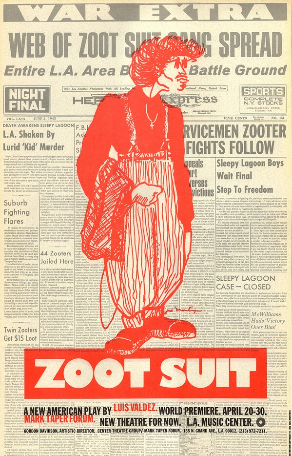 Zoot Suit Jose Montoya I Courtesy of Center Theater Group