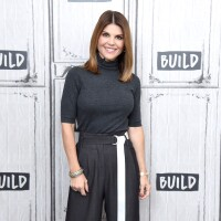 Actress Lori Loughlin visits the Build Brunch to discuss the Hallmark Channel TV series 'When Calls the Heart' at Build Studio on February 14, 2019 in New York City.