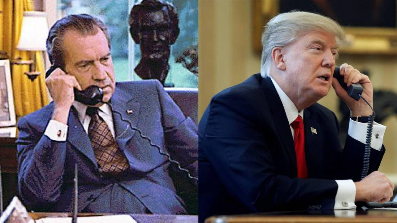 Nixon/Trump Split