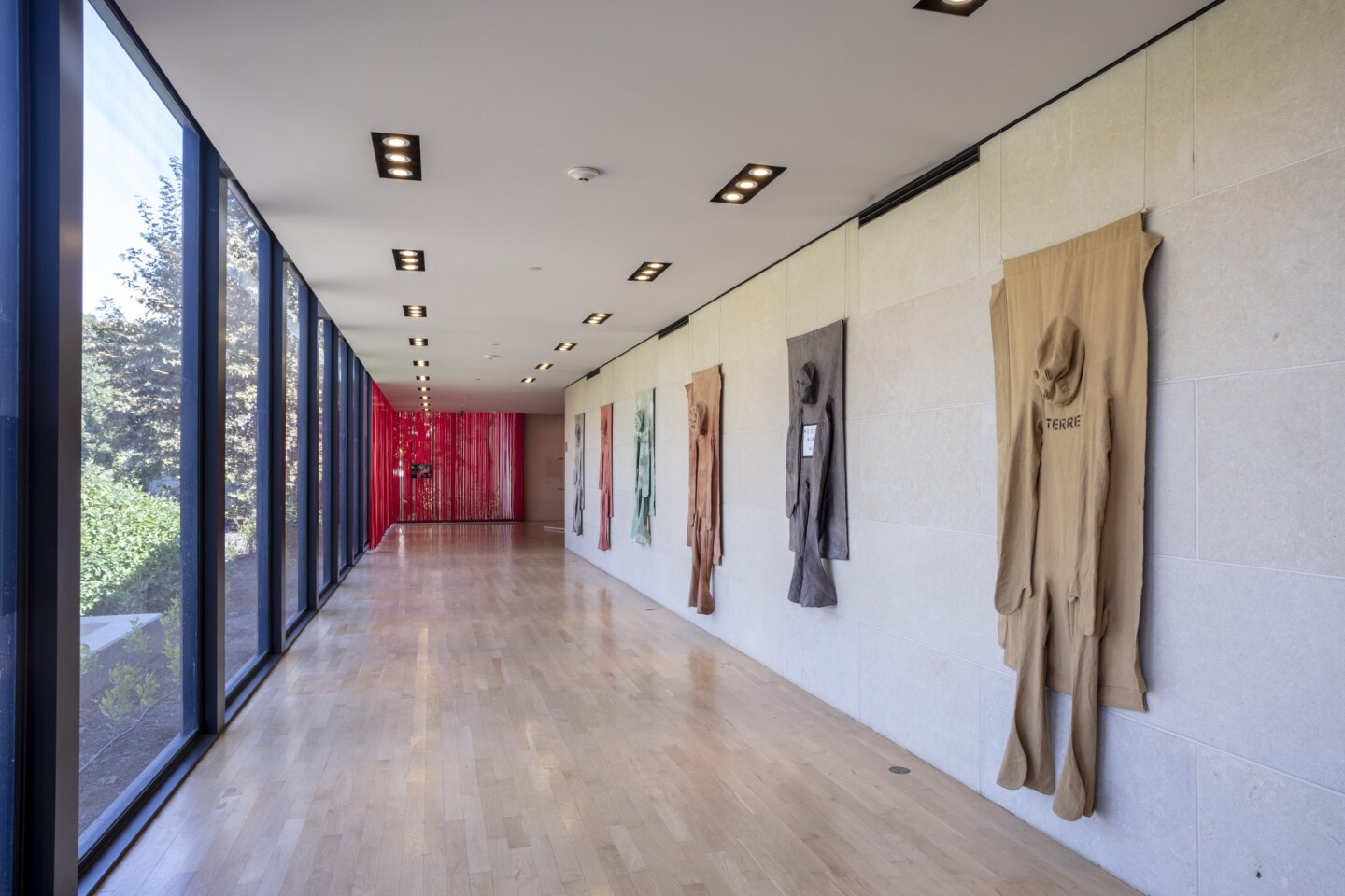 "An installation view of Nicola L.'s work at ""Made in L.A. 2020: a version"" at The Huntington Library, Art Museum, and Botanical Gardens, San Marino. 