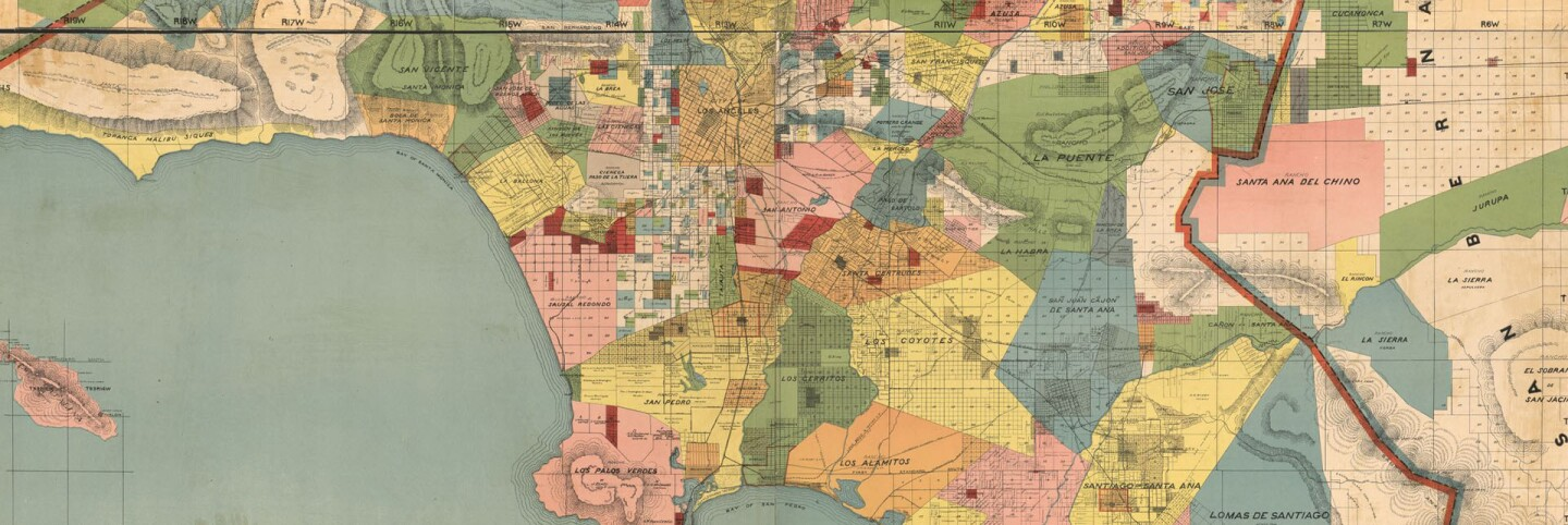 1888 map of Los Angeles County (cropped for header)