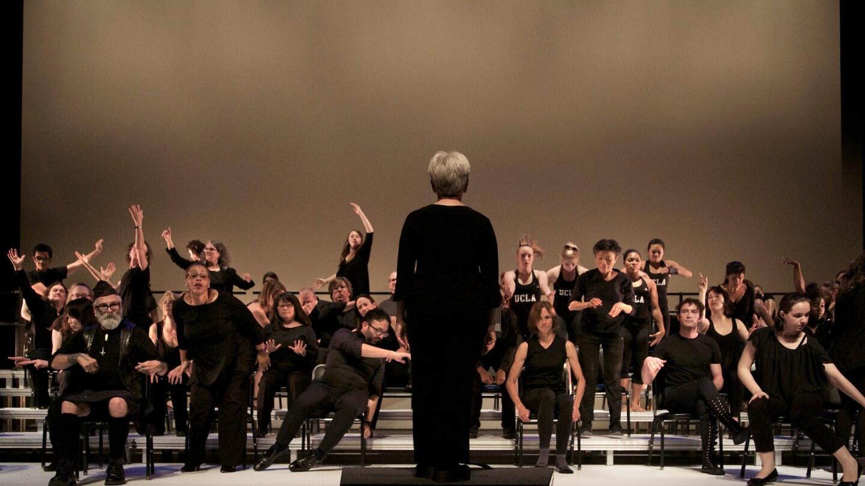 The Symphonic Body/UCLA. | Photo by Calista Lyon, Courtesy of UCLA