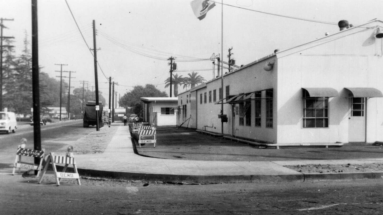 County Yard Fruit Street Santa Ana 1965 oc archives