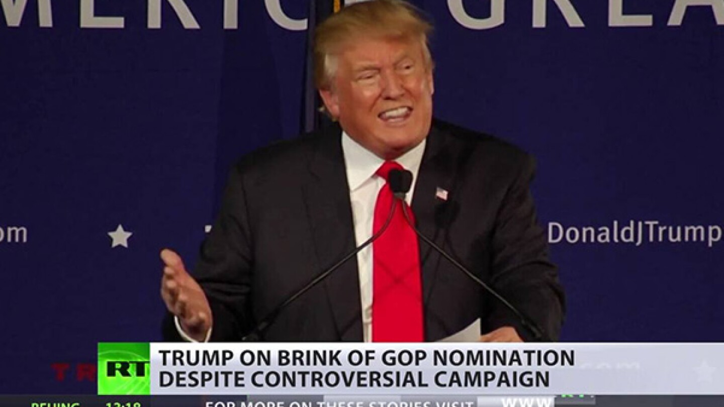 Republican Ticket Goes to Trump - People Feel He's Giving Voice to Unheard