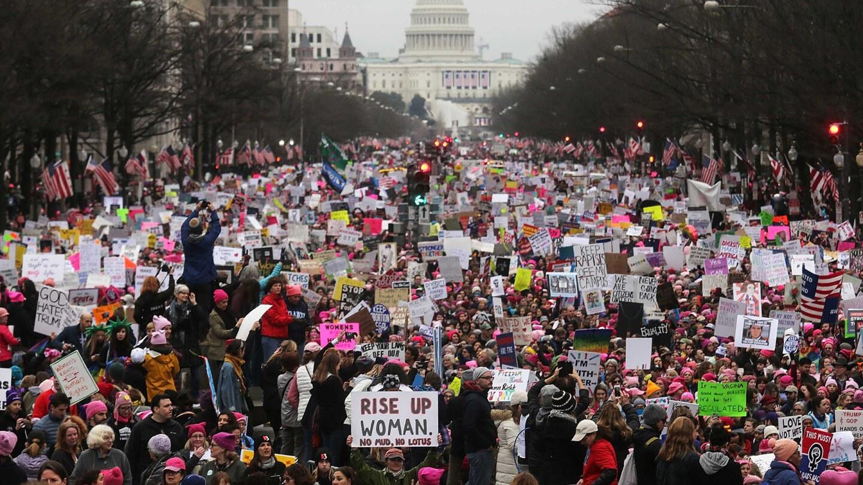 Womens March - Washington DC - 2017