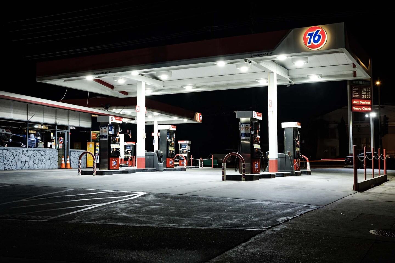 Gas Station, Vineland and Riverside. 2019. | Kwasi Boyd-Bouldin