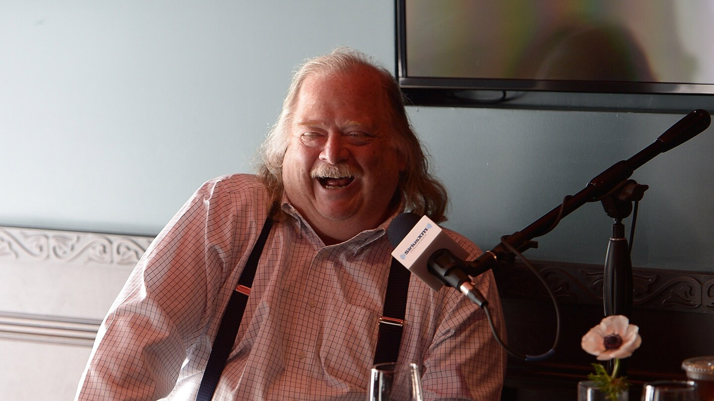 Jonathan Gold on SiriusXM | 	Charley Gallay / Stringer
