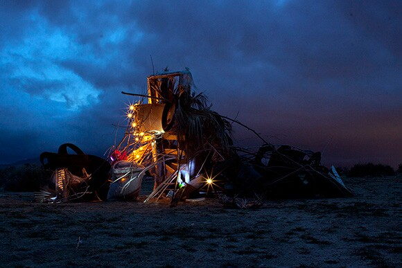 """Nicolas Shake, """"Collected Wreckage Colliding with a Constellation,"""" 2012, Archival Inkjet Print, 32 x 48 inches"""