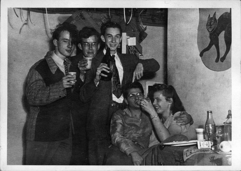 Jim Kepner's science fiction fan group, circa 1940-55.