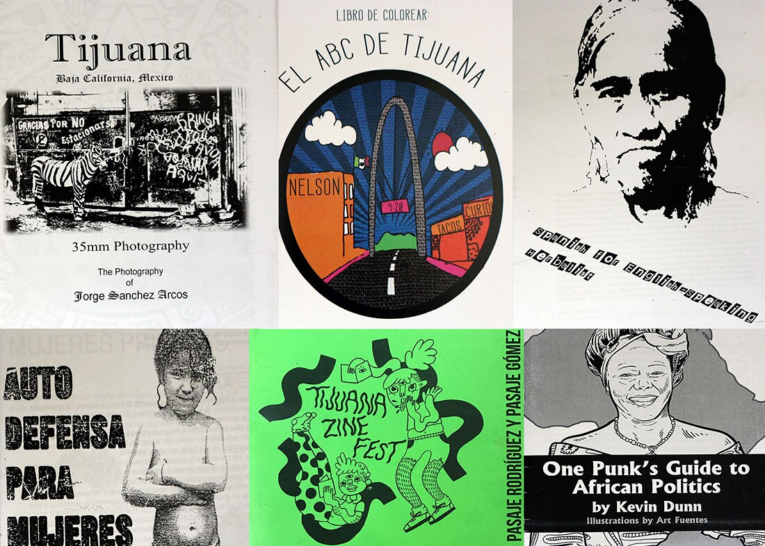 Some of the zines at the TJ Zine Fest | Samanta Helou Hernandez