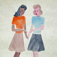 Poston girls | Courtesy of Bill Bell