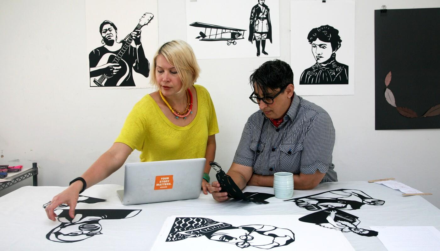 Rad Women: Kate Schatz and Miriam Klein Stahl