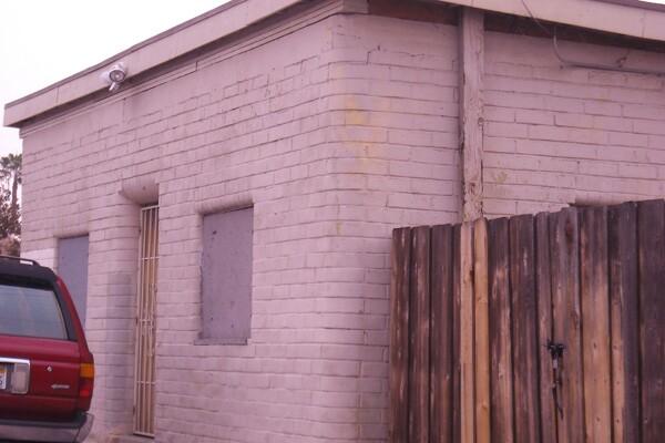 The last adobe at Simon's Brick Yard Number Three   Photo: Vickie Vertiz