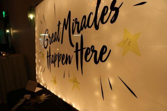 "Eileen Levinson, ""Great Miracles Happen Here."""