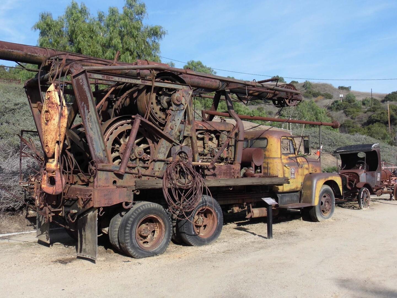 An old Ford Model T in the Olinda Oil Museum   Sandi Hemmerlein