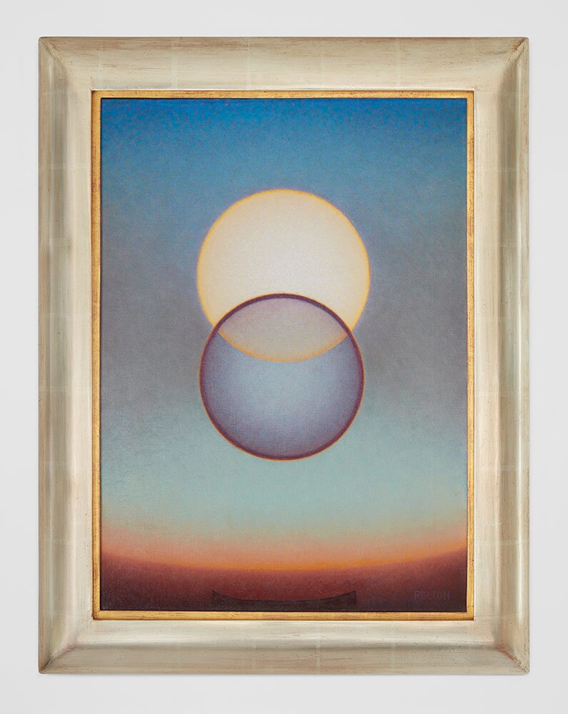 "Agnes Pelton, ""Departure,"" 1952. Oil on canvas. 
