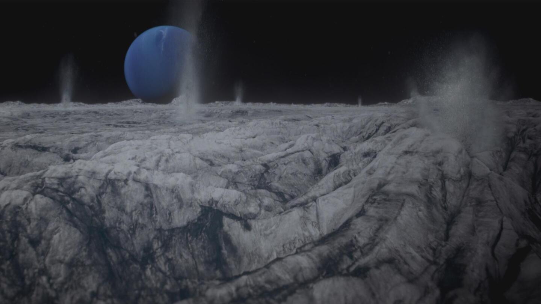 "Uranus and Neptune   Image from ""Nova: The Planets"" Ice Worlds"