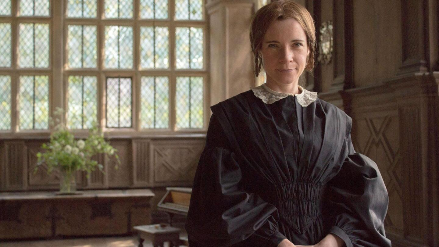 """Lucy Worsley dressed in Victorian era garb from """"A Very British Romance: Episode Two."""""""