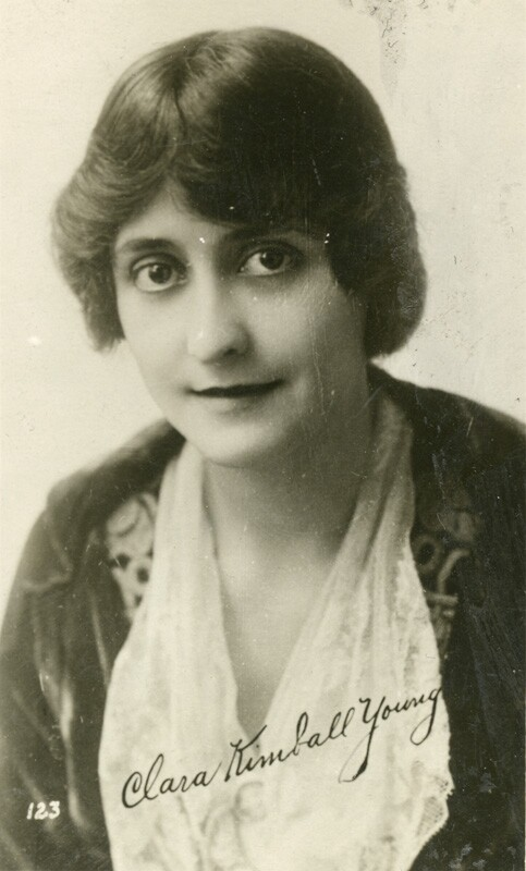 Clara Kimball Young. Photo courtesy of the California State Library.