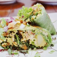 Vegan breakfast burrito | Hot and Cool Cafe