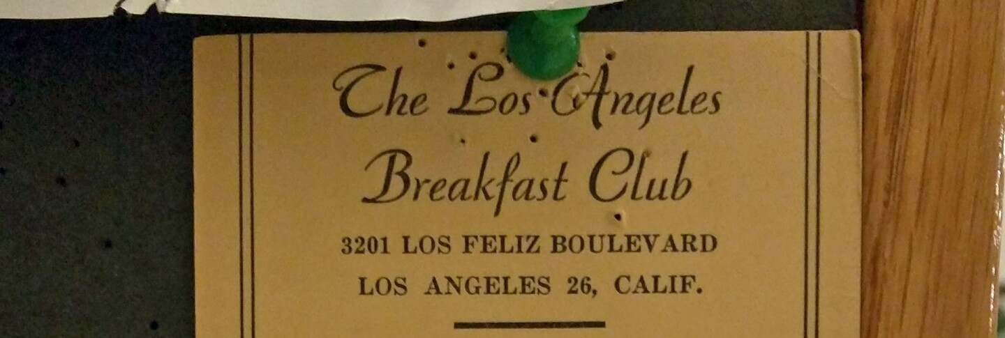 The L.A. Breakfast Club