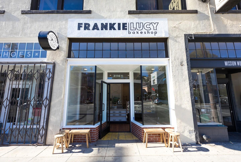 FrankieLucy Bakeshop on Sunset Blvd.   Jakob Layman