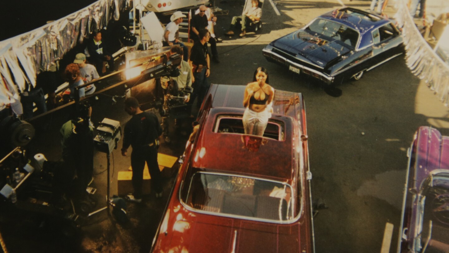 "On the set of Snoop Dogg's ""Who Am I (What's My Name)?"" in 1993, which used VIP Records as a backdrop."