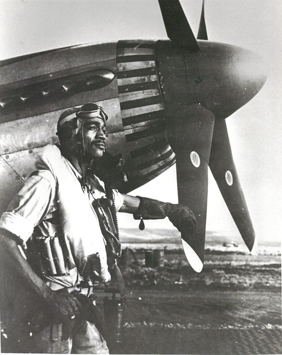 Lt.Col. Lee Archer: Tuskegee Airman and first and only African American ace of World War II. | Courtesy of the U.S. Air Force