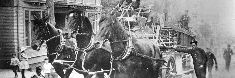 Horse-drawn fire engine (header)