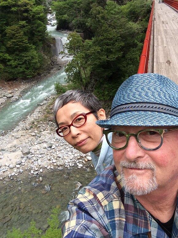 Mr. Bonzai and Keiko Kasai in Japan, 2014.