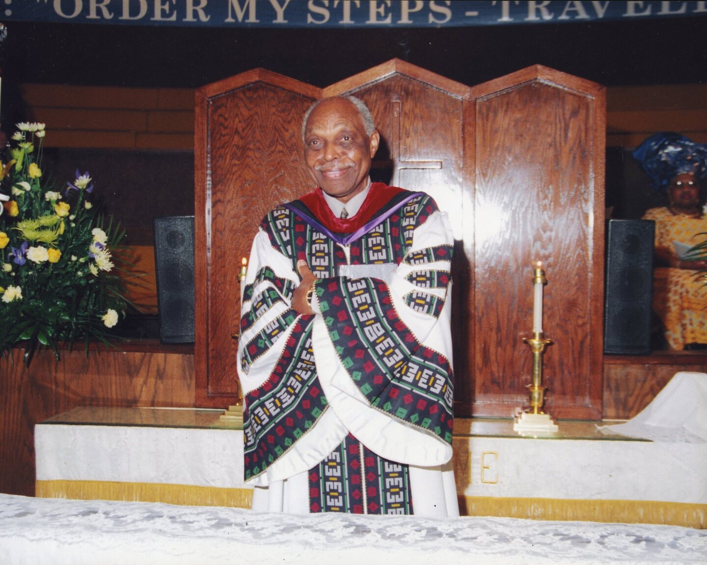 "Rev. Cecil ""Chip"" Murray crossing his arms. 