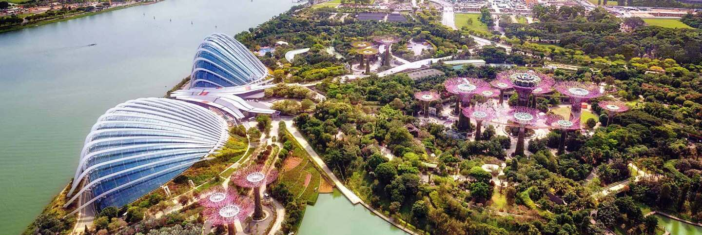 Gardens by the Bay, Singapore. (primary) | iStock/CharlieTong