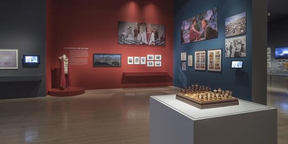Installation view. Stanley Kubrick. November 1, 2012-June 30, 2013. Los Angeles County Museum of Art. Photo 2012 Museum Associates/LACMA.