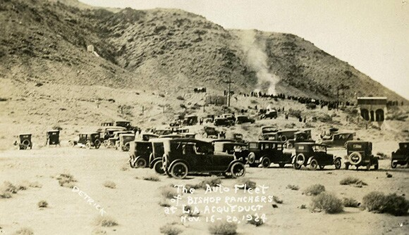 Alabama Gates Occupation, November 16-20, 1924. | Image: Courtesy Inyo County Eastern California Museum.