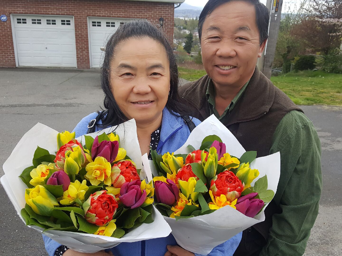 (L-R) Xai Cha and Kher Lia Thao, owners and operators of Xai C. Farm   Courtesy of Mary Thao