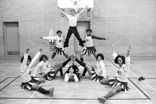 CSUDH Toro Pep Club 1970s I Photo Courtesy of CSUDH Archives