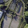 "Aerial shot of Potawot Community Garden. | Still from ""Tending Nature"""