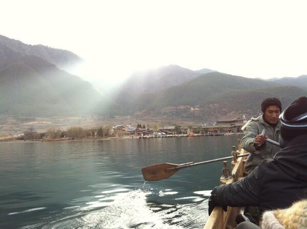 Lu Gu lake in Yunnan | Photo by Clarissa Wei