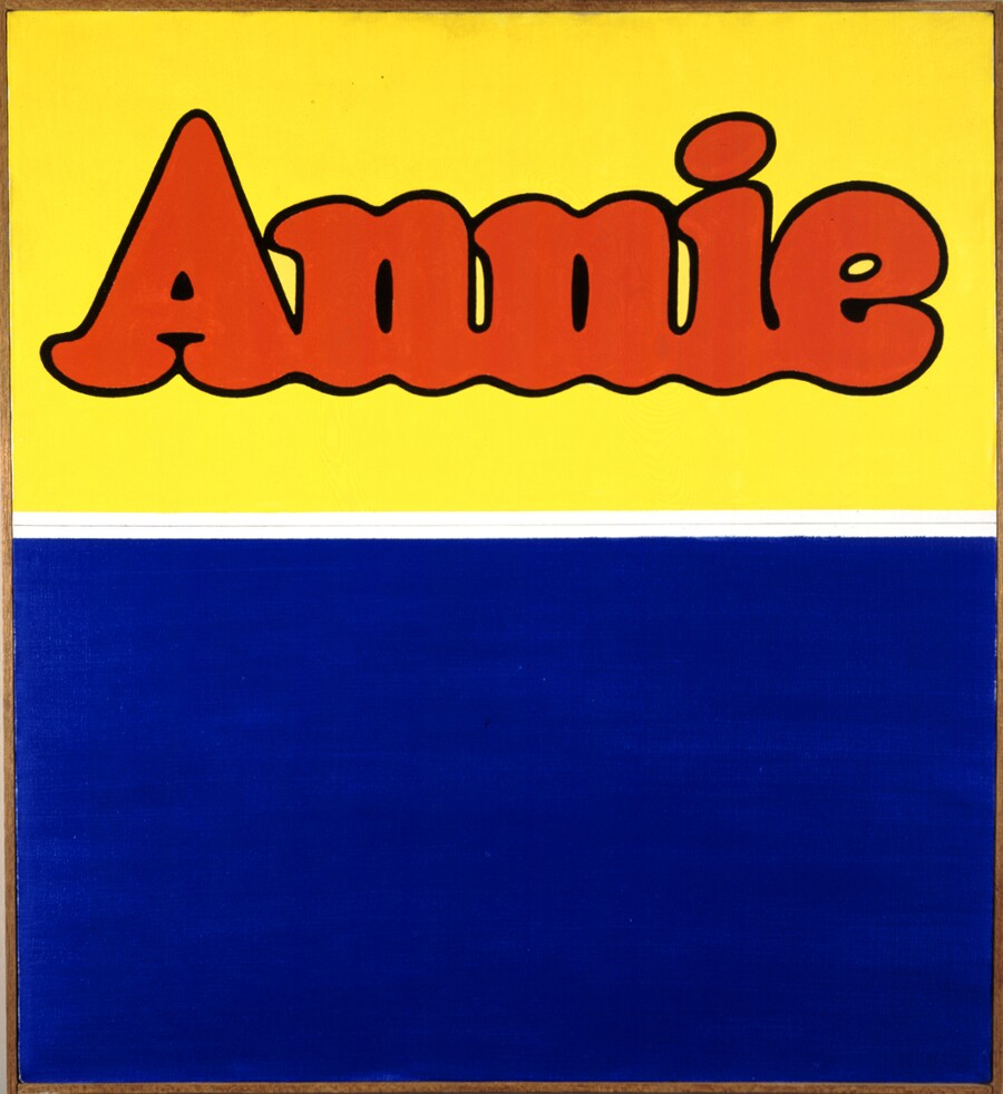 "From the OCMA collections: Ed Ruscha, ""Annie"""