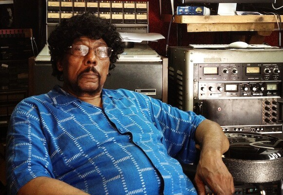 James Gadson at his home studio | Photo by Oliver Wang
