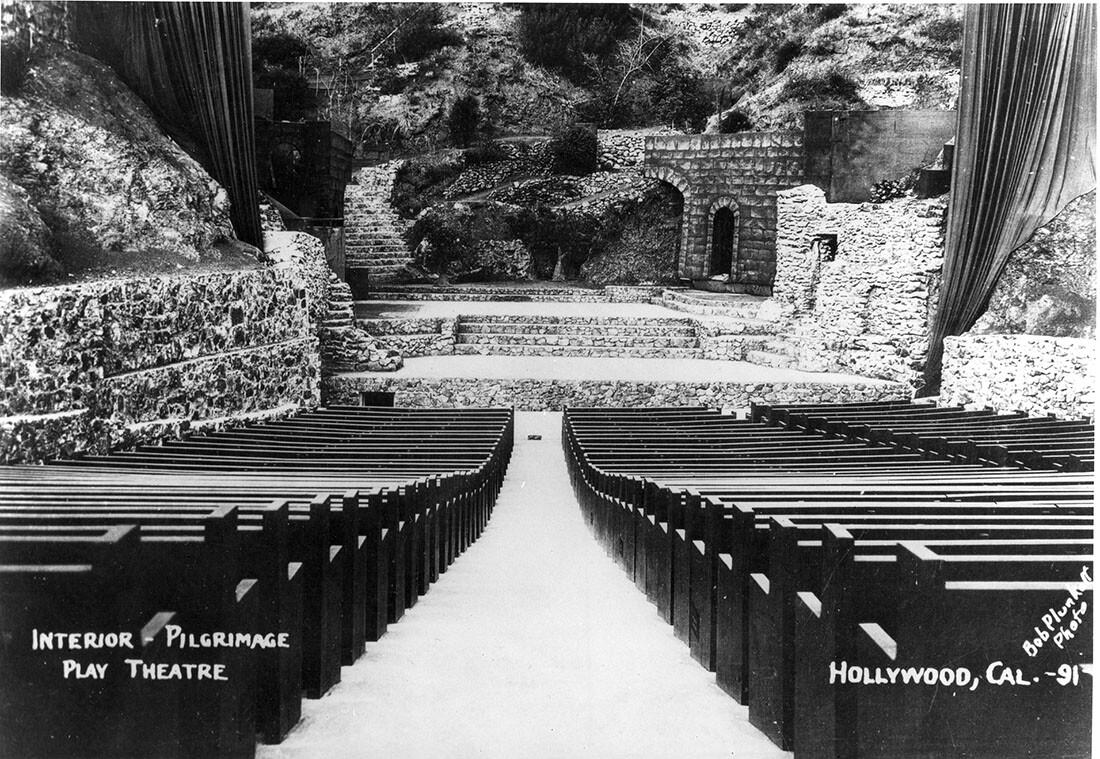 Pilgrimage Play Amphitheater circa 1931 | Bob Plunkett