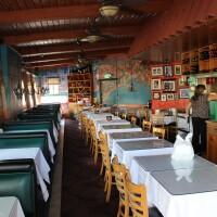 An empty Cantalini's Restaurant in Playa del Rey during the coronavirus pandemic | Karen Foshay