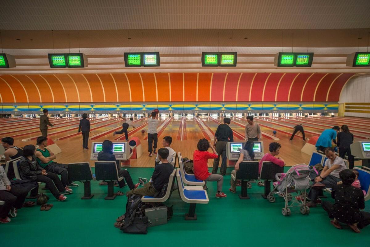 Golden Lane Bowling Alley.Pyongyang, North Korea   Mark Edward Harris