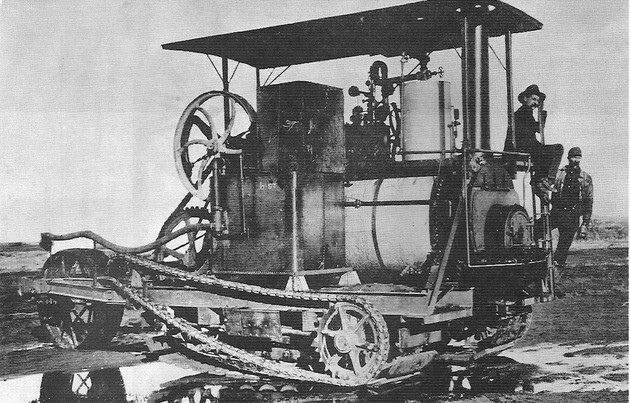 Photo of Holt Steamer, Crawler-type Tractor Prototype