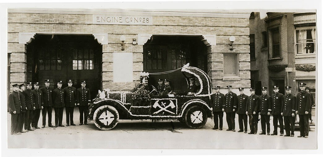 Los Angeles Fire Department photographs, 1912-1915, courtesy California Historical Society, PC19_05.