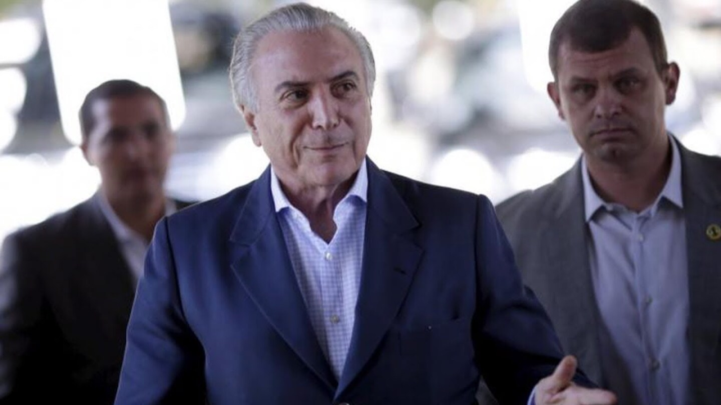 Brazilian President Michel Temer Charged with Corruption, a Year After He Backed Ouster of Rousseff