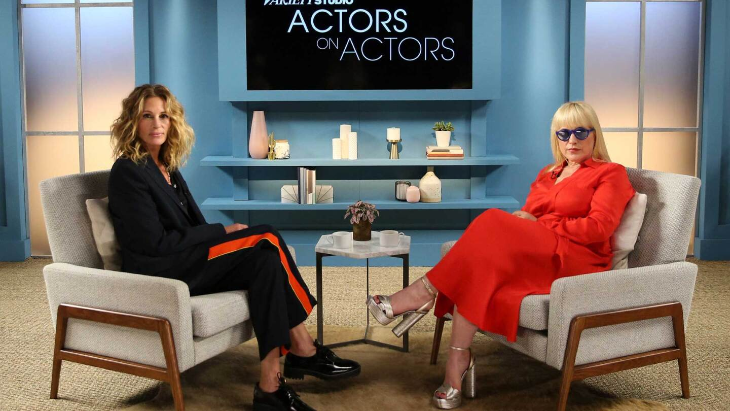 Julia Roberts and Patricia Arquette on Variety Actors on Actors Season 10