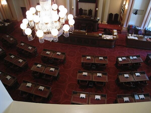 California Senate Chambers