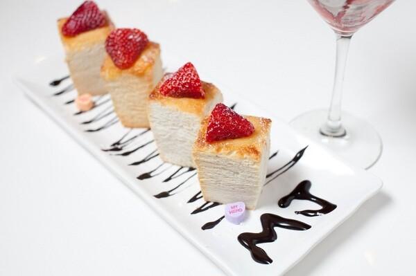 Mini brick toast | Photo by MJ Cafe