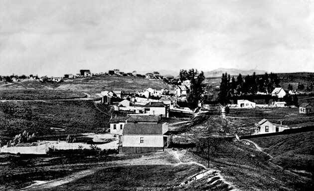 Temple Street, 1876.